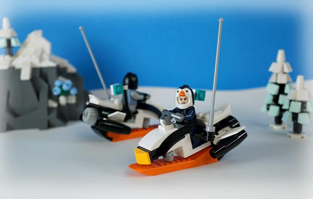 Rocket-Powered Mono Ski