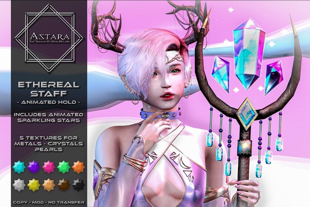 Astara – Ethereal Staff Ad