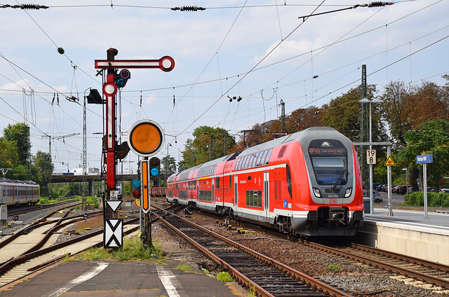 445 058 Hanau Hbf 21.08.18