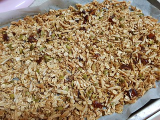 Coconut, Date, and Almond Granola