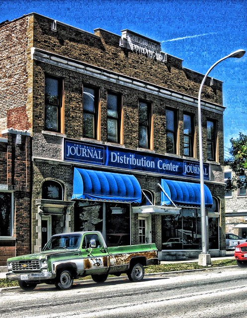 Kankakee Illinois - Journal Distribution Center - Gallagher Building - Historic