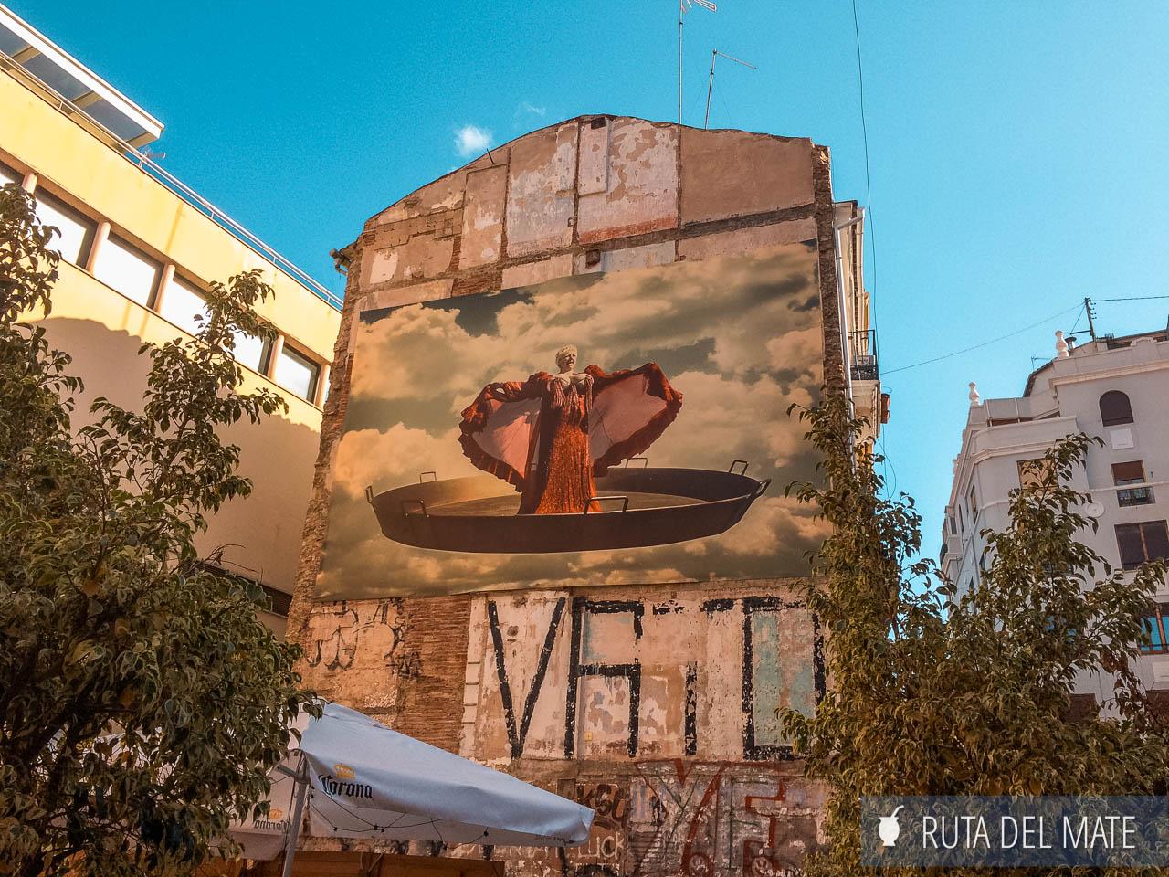 Murales, arte urbano, de Valencia