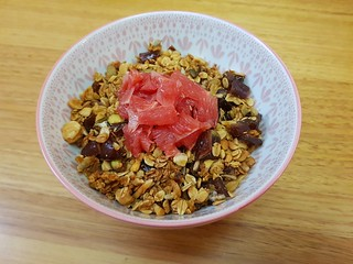 Fig and Grapefruit Granola