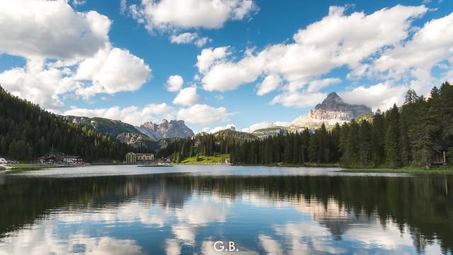 Misurina and its beautiful lake