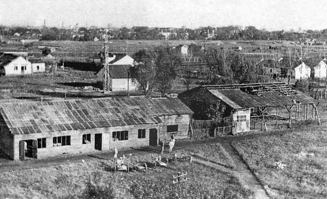 Chapei Civil Assembly Centre - School hut, Shanghai, 1945