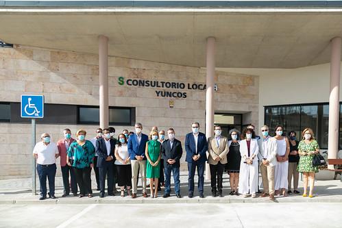 Inauguración del consultorio local de Yuncos