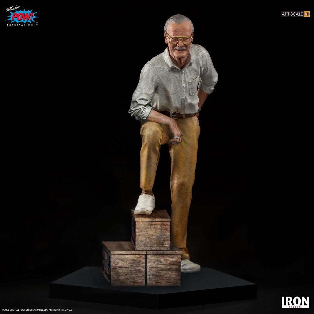 Iron Studios Art Scale 系列 MARVEL之父「史丹·李 (Stan Lee)」1/10 比例全身雕像 普通版/豪華版