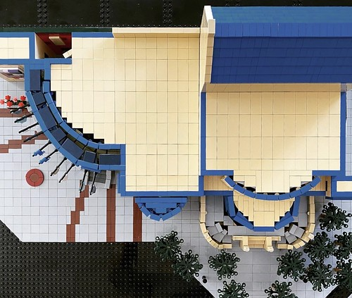 Leather Center for the Arts LEGO my creation
