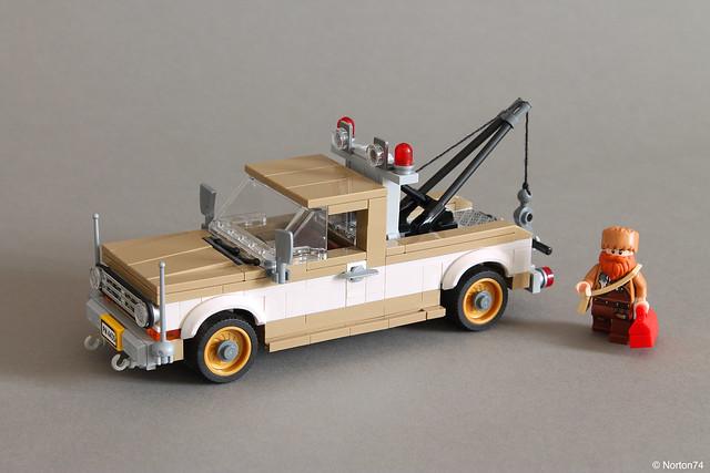 Joe's tow truck