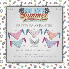 [Ari-Pari] Pretty Paws Panties