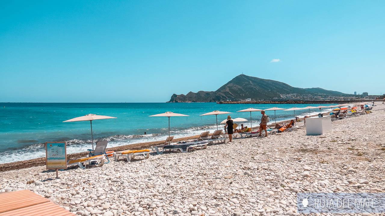 Increíbles playas de Altea