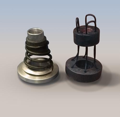 Michell Gyrodec suspension upgrade pylons kits 50168979948_41c92dbec4