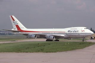 C-FTOB Birmingham 2-6-1989