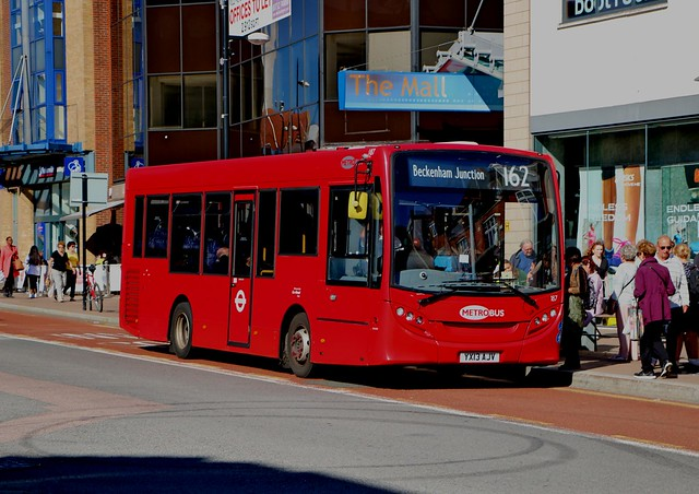 Go Ahead London Metrobus - 187 - YX13AJV