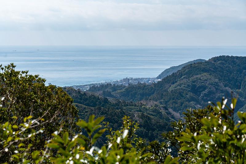 烏場山から見える海