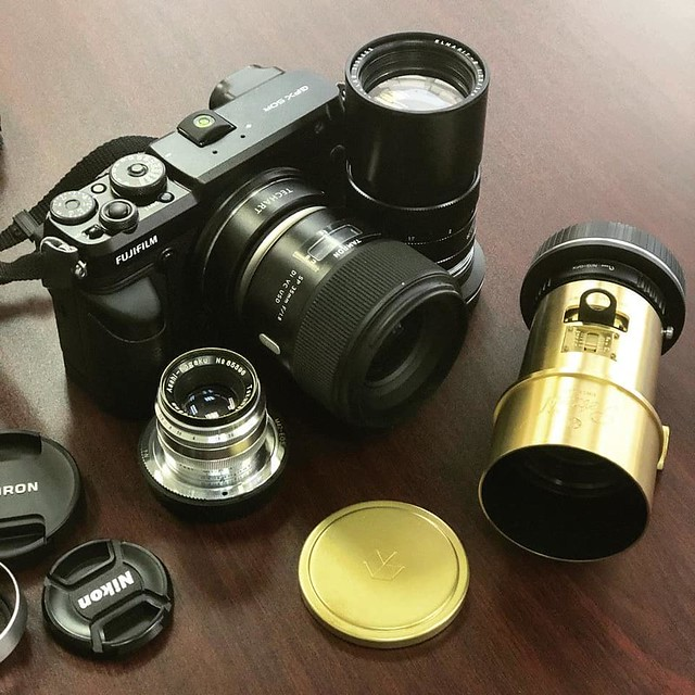 Pentax 58mm f2.4 Heliar 中片幅解放