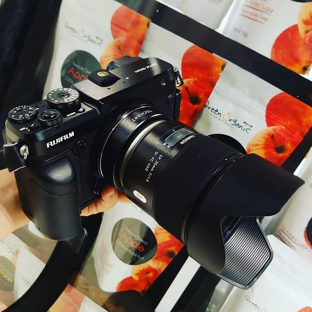 騰龍 35mm f1.8 SP 中片幅解放