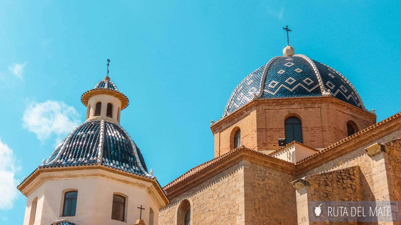 Cúpulas de la Iglesia Nuestra Señora del Consuelo de Altea