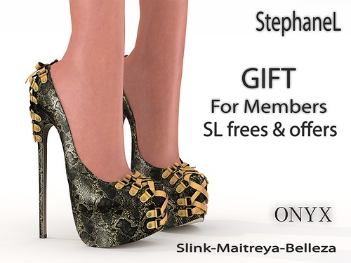GIFT [StephaneL] ONYX SHOES