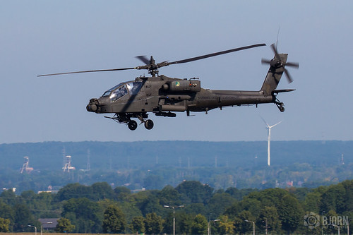 Q-13 Boeing AH-64DN Apache Royal Netherlands Air Force, Maastricht Aachen Airport - EHBK/MST | by neplev1