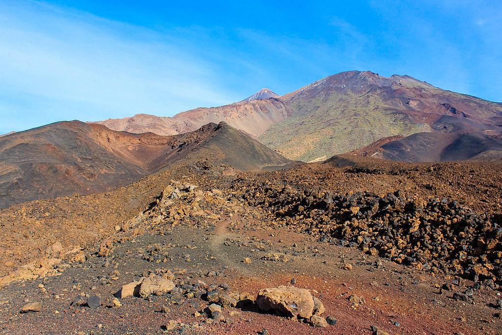 Volcán Pico Viejo en Tenerife