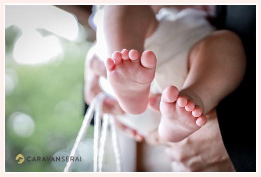 赤ちゃんのあんよ(足の裏)
