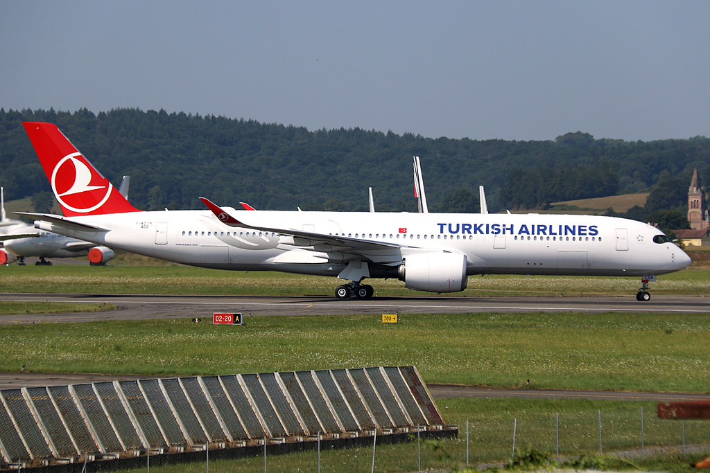 F-WZGN (TC-LGA) Airbus A350-900 Turkish Airlines LDE