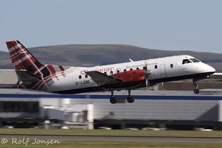 G-LGNI SAAB 340B Loganair Edinburgh Airport EGPH 23.07-19