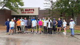 St. Mary's Child Center Clean-up