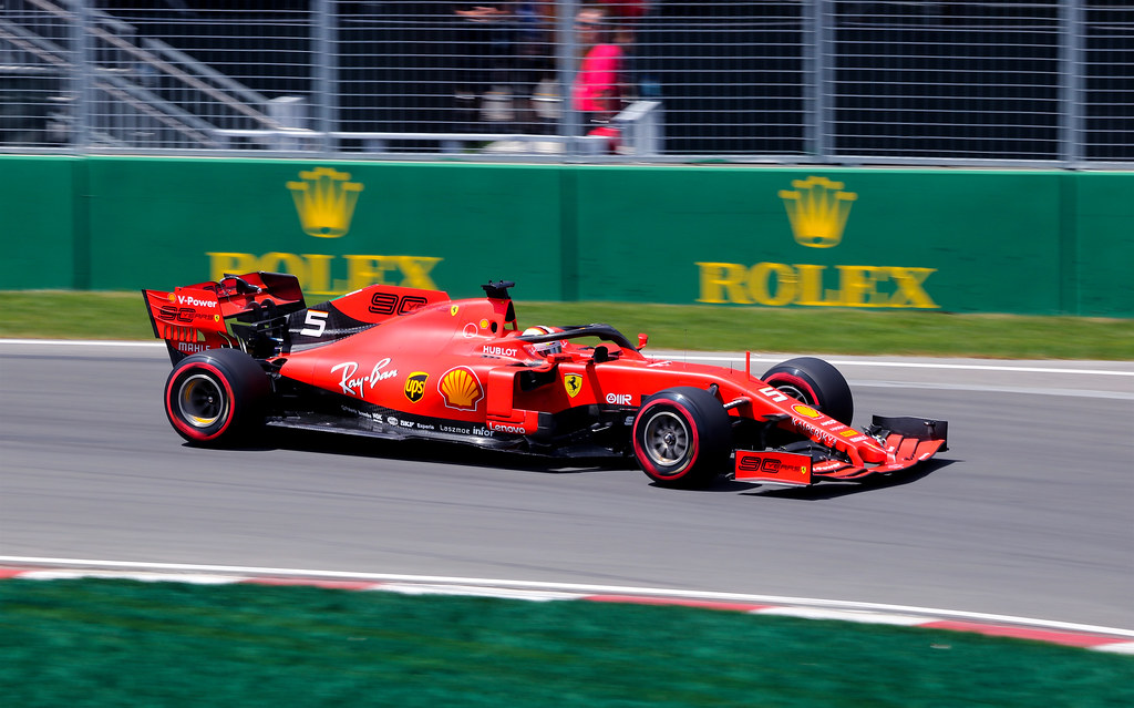 Sebastien Vettel Ferrari SF 90