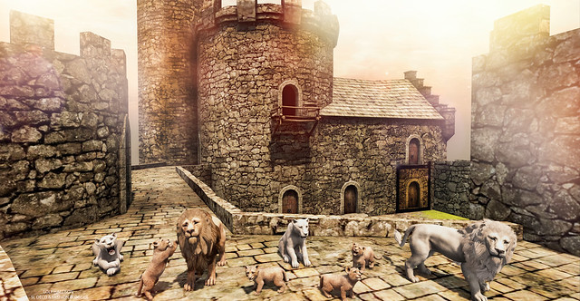 The guardians of the castle