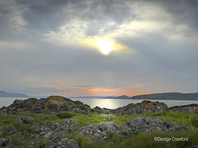Sundown Near Portencross