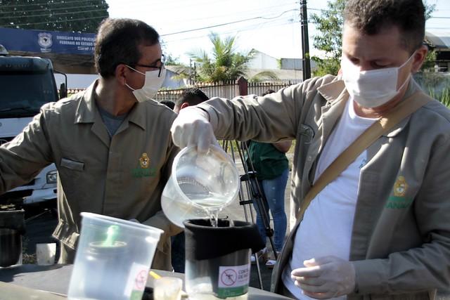 30.07.20. Estações Ação de combate a dengue