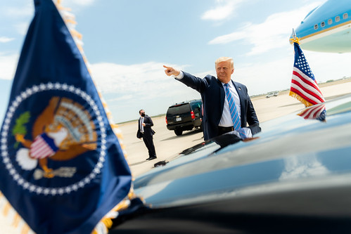 President Trump Travels to Texas | by The White House