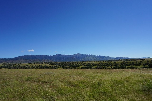 The Huachuca Mountains located in the Coronado National Forest