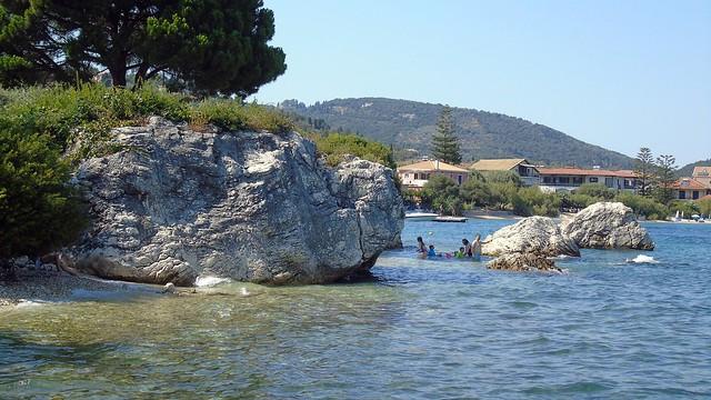 Παραλίες στη Νικιάνα Λευκάδας