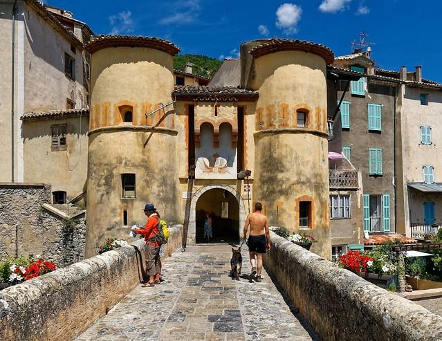 Entrevaux / Porte Royale / Royal gate