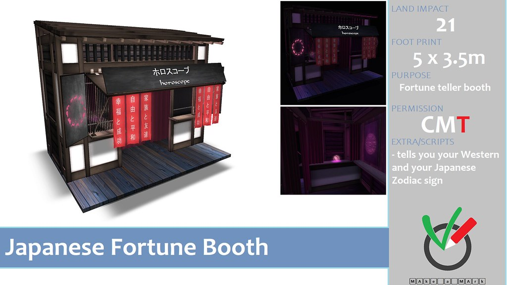 MAke a MArk – Japanese Fortune Booth