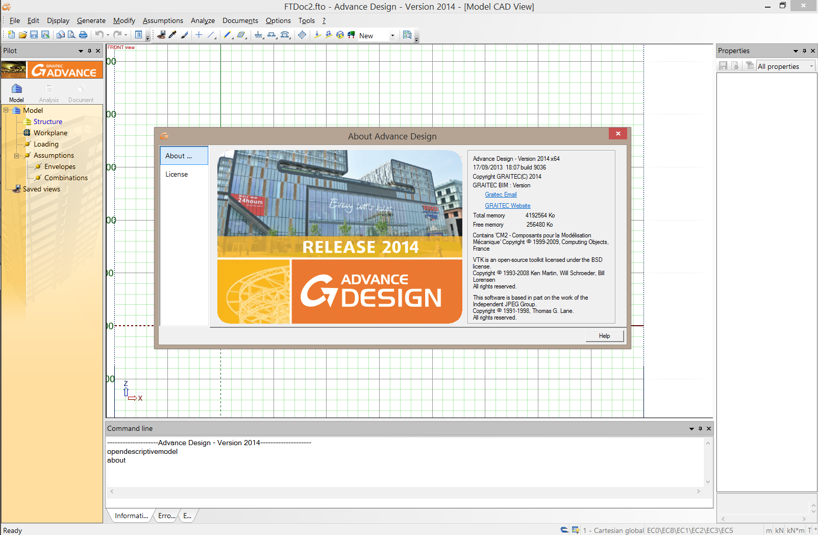 Working with GRAITEC Advance Suite 2014 full