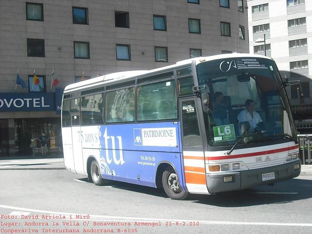 b6035 - MAN 11.190 HOCL (Beulas Midi Star)