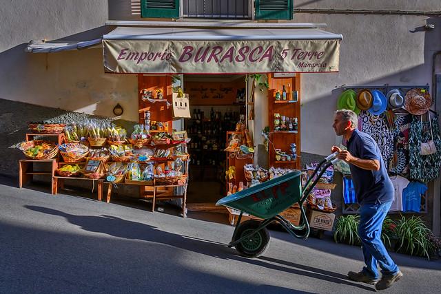 Store in Manarola, Cinque Terre, Italy