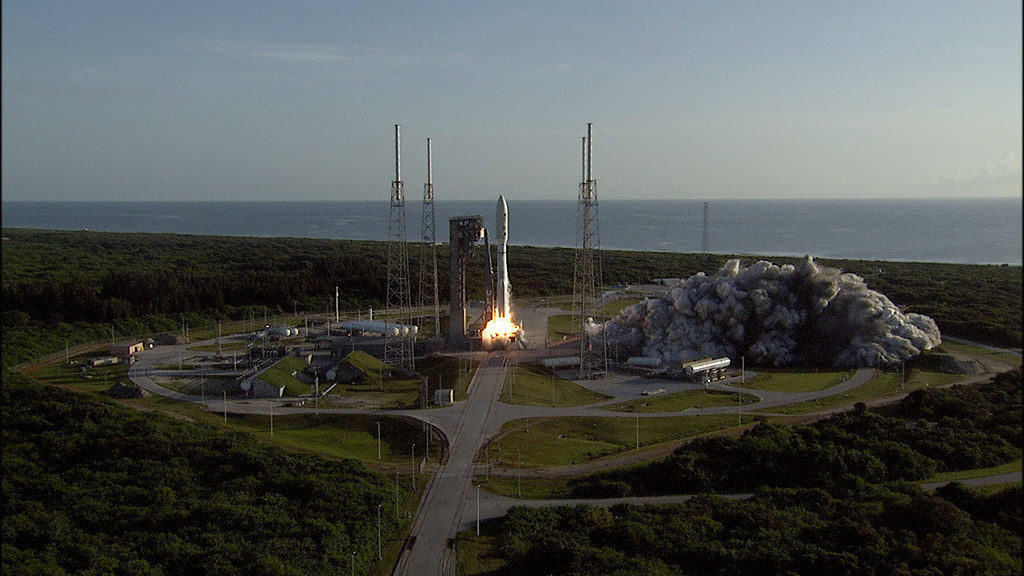 Atlas V Rocket Launches with NASA's Mars Perseverance Rover