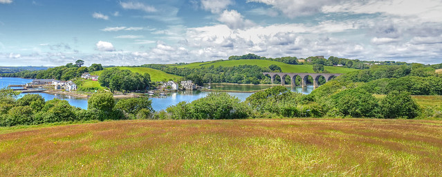 Antony passage and Forder viaduct.