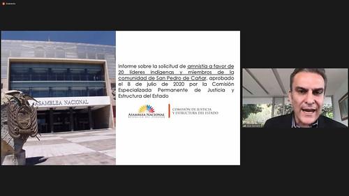 CONTINUACIÓN DE LA SESIÓN NO.678 DEL PLENO DE LA ASAMBLEA NACIONAL. (VIRTUAL). ECUADOR, 30 DE JULIO DEL 2020