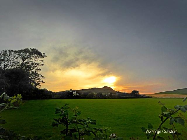Around Auld Hill Sunset