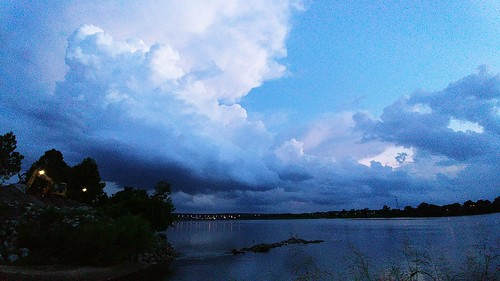 clouds weather sky scenic landscape travel elements explore autumn lake water fishing trees park photography peaceful relaxation river tulsa oklahoma