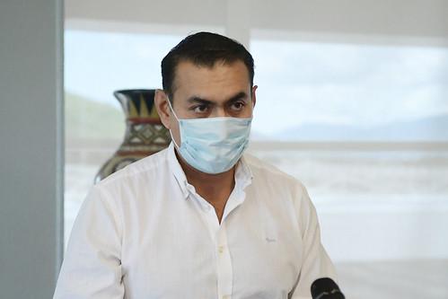 Rueda de Prensa Presidente Municipal Salvador Zamora