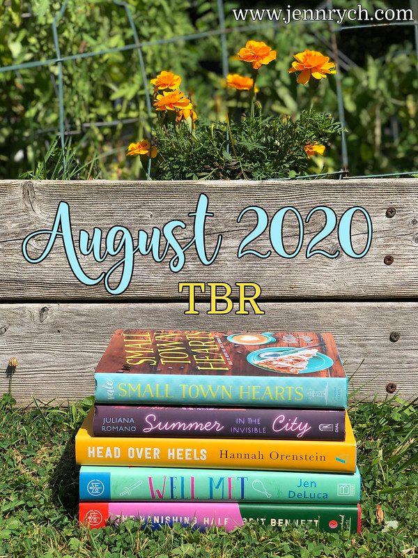 August 2020 To Be Read Stack