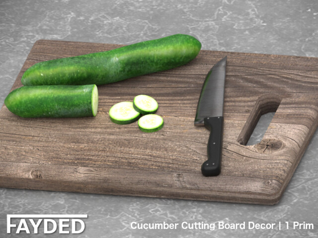 FAYDED – Cucumber Cutting Board