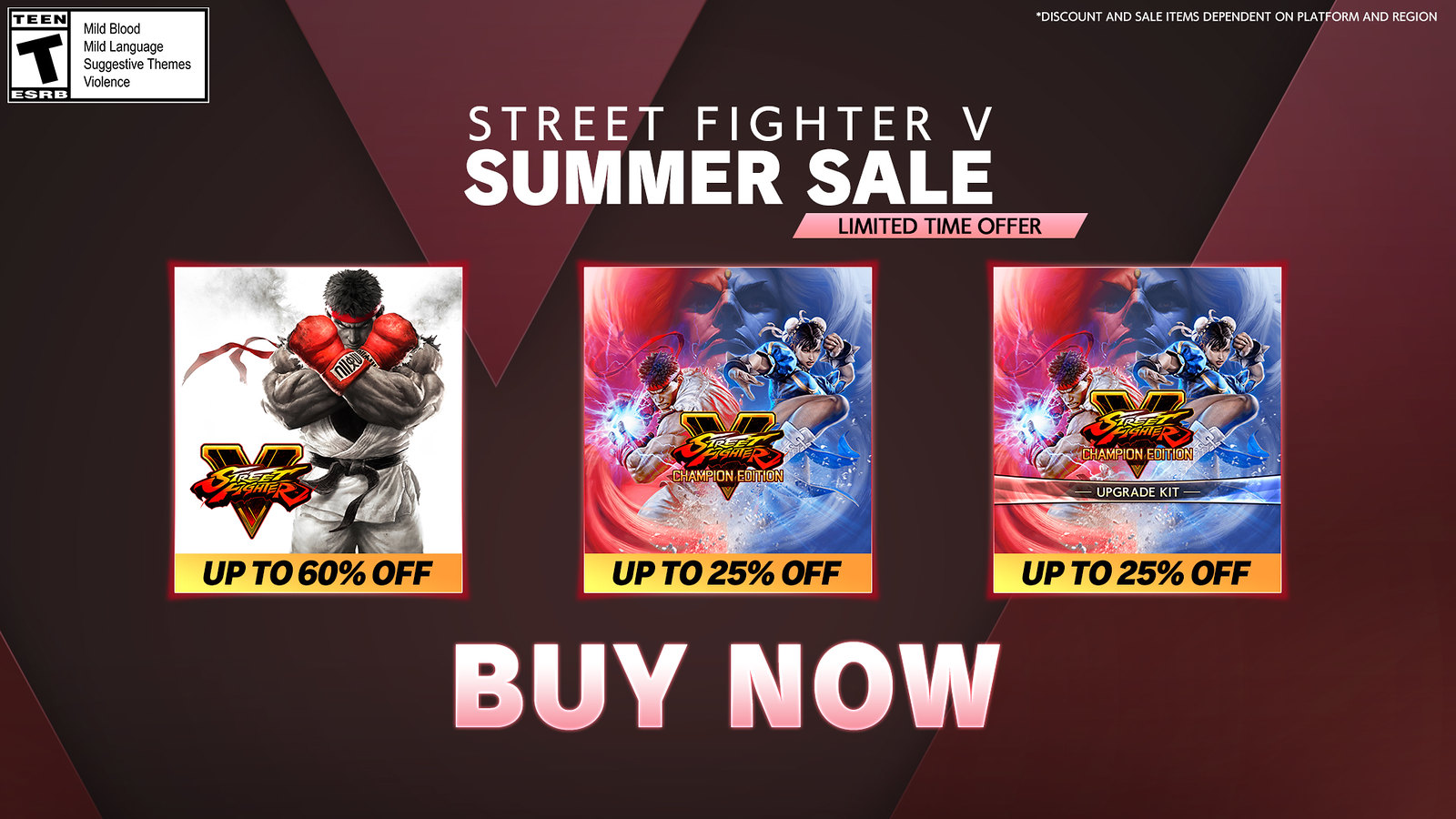 Street Fighter V - Summer Update